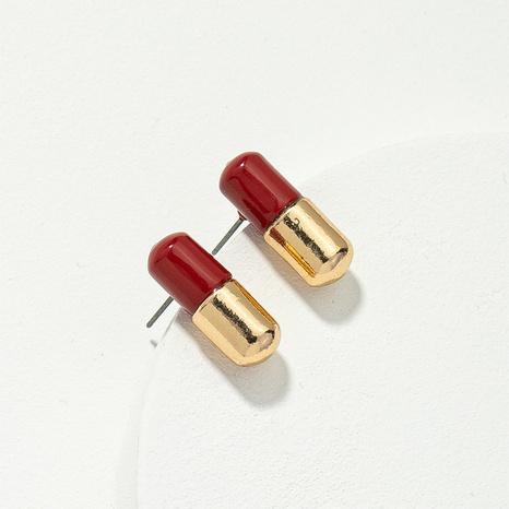 Boucles d'oreilles capsule multicolores de mode créative NHQJ311333's discount tags
