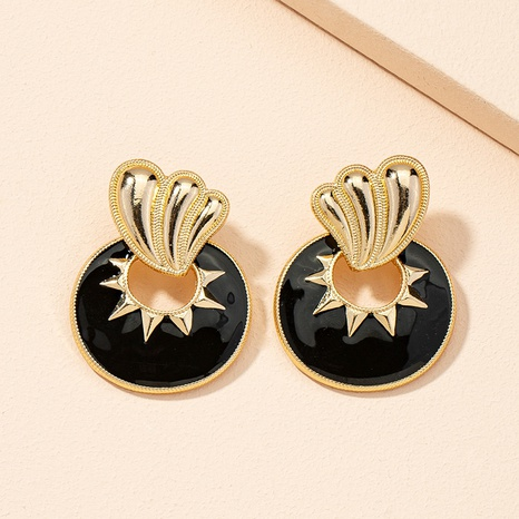 new retro court style alloy dripping earrings NHAI311345's discount tags