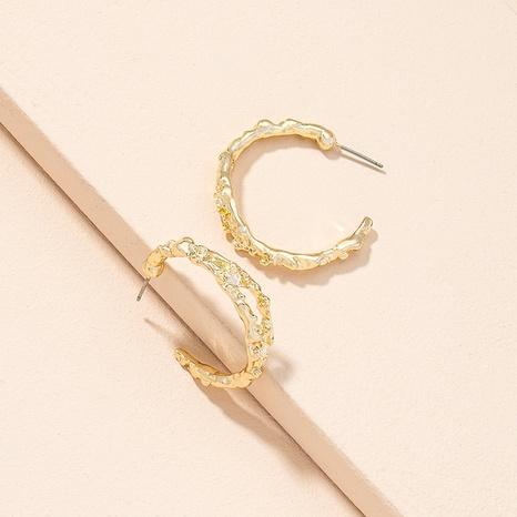 Einfache Mode geometrische unregelmäßige Ohrringe NHAI311343's discount tags