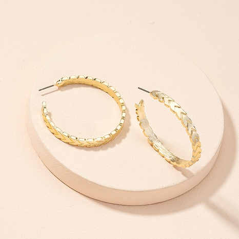 new exaggerated fashion geometric circle earrings NHAI311342's discount tags