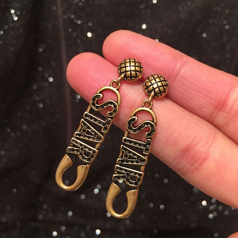 new fashion letter star earrings  NHWK311410's discount tags
