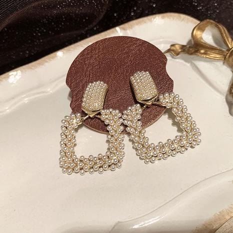 Geometric square earrings NHWK311407's discount tags