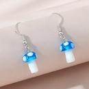Korean creative fashion small mushroom earrings NHPS311452