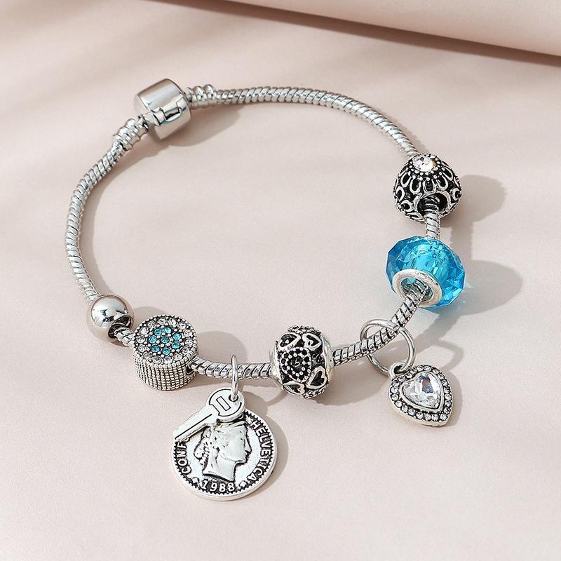 simple wild Roman head bracelet NHPS311456