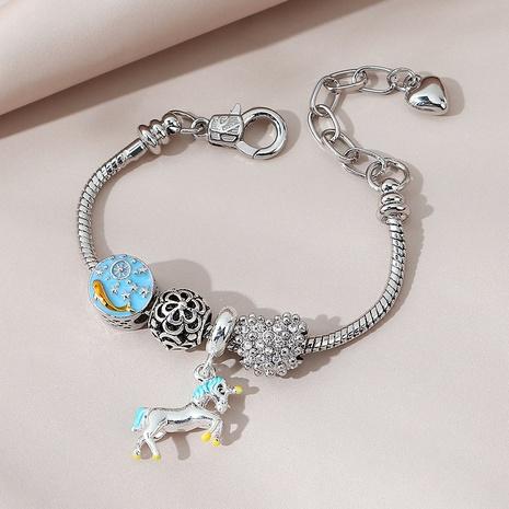 Korean fashion wild creative unicorn bracelet NHPS311466's discount tags