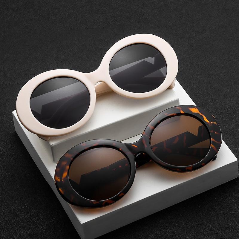 retro oval new fashion sunglasses NHBA311468