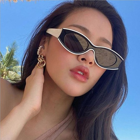 new fashion cat-eye sunglasses NHBA311474's discount tags