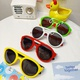 new simple childrens fashion casual sunglasses NHBA311482