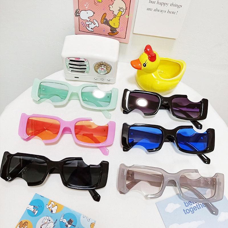 new fashion notched hole design sunglasses NHBA311487