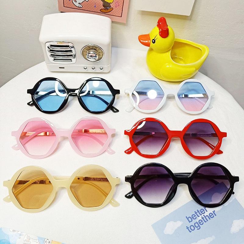 new fashion Korean semi-metal children's sunglasses  NHBA311488