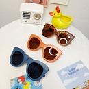 new fashion childrens leisure big frame UV protection sunglasses NHBA311489