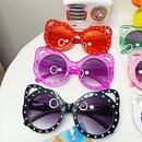 new fashion dot diamond childrens sunglasses  NHBA311495