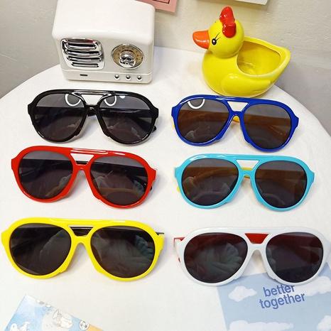 lunettes de soleil à monture ronde NHBA311498's discount tags