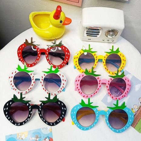 Lunettes de soleil fraises dessinées pour enfants coréens NHBA311502's discount tags