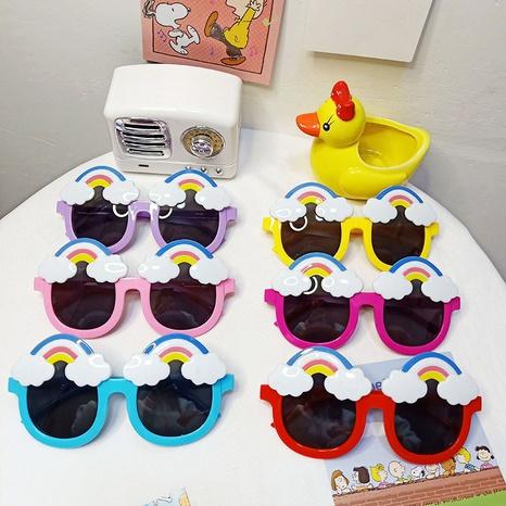 nuevas gafas de sol de montura redonda de moda infantil NHBA311503's discount tags