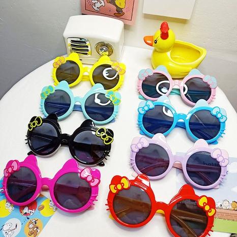 Dessin animé mignon chat lunettes de soleil yeux protection UV NHBA311505's discount tags