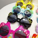 Cartoon cute cat UV protection eye sunglasses NHBA311505