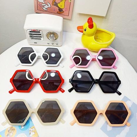 Neue sechsseitige Diamant-Sonnenbrille für Kinder NHBA311506's discount tags