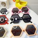 Childrens new sixsided diamond sunglasses NHBA311506