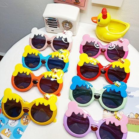 Lunettes pour enfants à monture Honey Bee Bear NHBA311510's discount tags