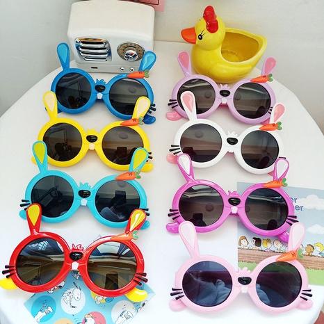 neue süße Kaninchen Kinder UV-beständige Silikon Sonnenbrille NHBA311509's discount tags