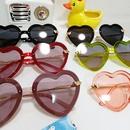 fashion childrens polarized peach heart frame comfortable sunglasses NHBA311512