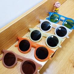 simple new round frame sunglasses NHBA311524