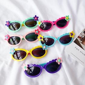 new fashion super cute little flowers sunglasses NHBA311533