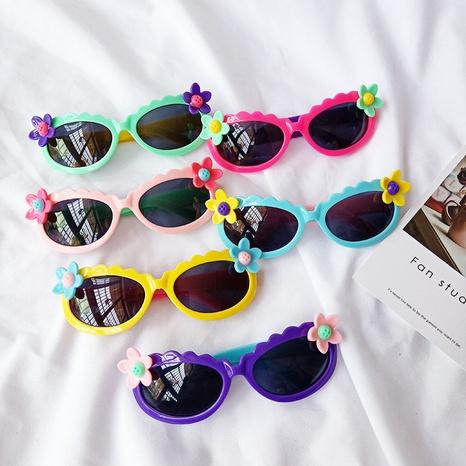 neue Mode super süße kleine Blumen Sonnenbrille NHBA311533's discount tags