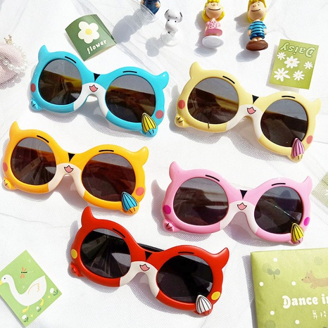 Nouvelles lunettes à monture souple en silicone chaton dessin animé NHBA311535's discount tags