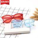 blue sea new transparent sunglasses NHBA311538
