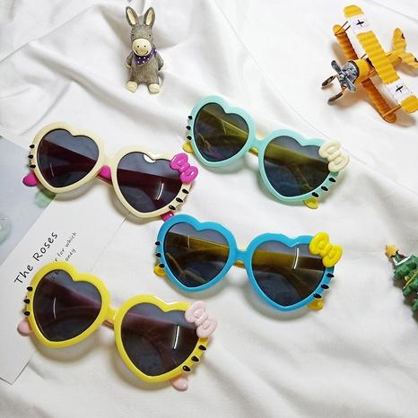 Neue Liebe Bowknot Cartoon Silikon Sonnenbrille NHBA311548's discount tags