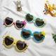 New Love Bowknot Cartoon Silicone Sunglasses NHBA311548