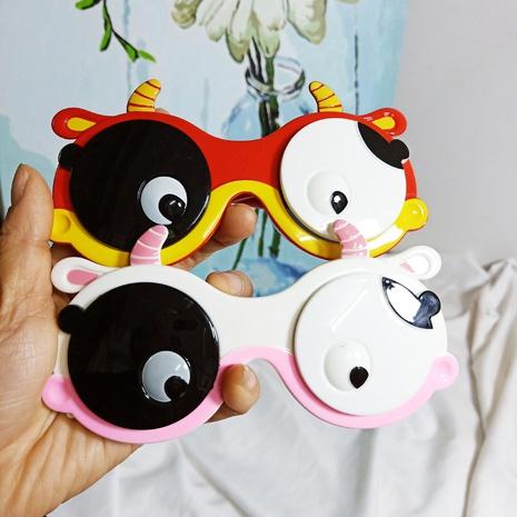 Kinder Cartoon Flip polarisierte kleine kuhförmige Sonnenbrille NHBA311549's discount tags