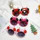 Cartoon Silicone Cute Sunglasses NHBA311552