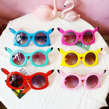 Neue niedliche Sonnenbrille des Cartoons NHBA311574's discount tags