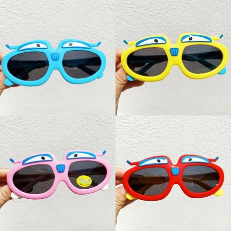Kinder Silikon Cartoon lustige Sonnenbrille NHBA311583's discount tags