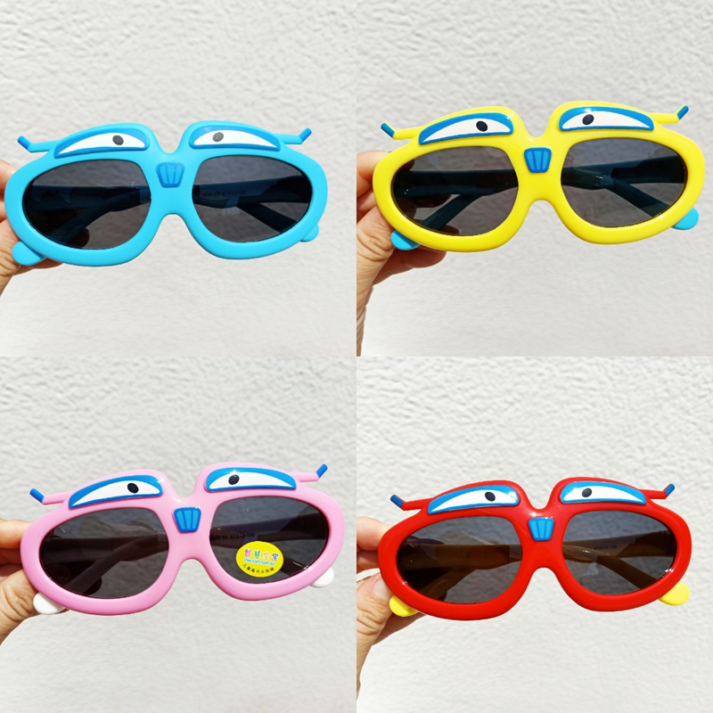 Children's Silicone Cartoon funny Sunglasses NHBA311583