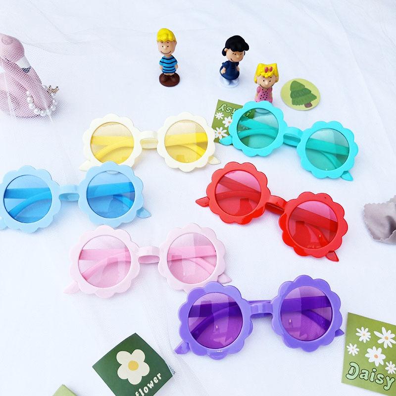 Lace plastic frame children's cute wild glasses NHBA311584