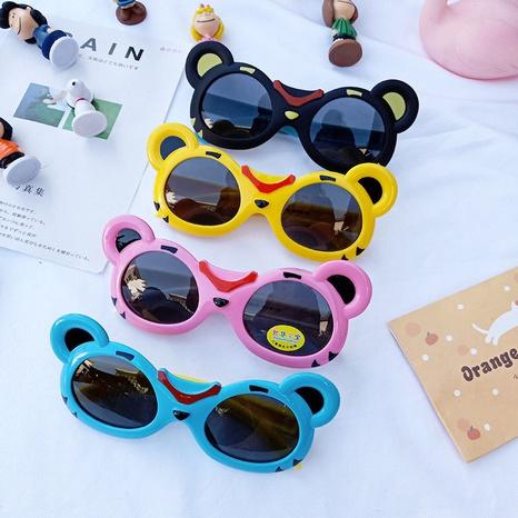 lunettes de soleil à monture flexible en silicone NHBA311586's discount tags