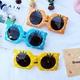 fashion cartoon silicone polarized glasses NHBA311587