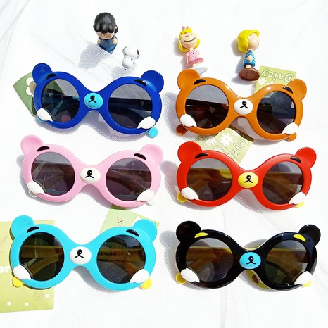 Mode Cartoon Silikon Sonnenbrille NHBA311592's discount tags