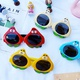 classic cartoon fashion anti-ultraviolet sunglasses NHBA311594