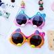 cartoon rabbit UV protection sunglasses NHBA311595