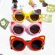 cute cat cartoon silicone frame sunglasses NHBA311597
