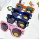 cartoon fashion silicone sunglasses  NHBA311598