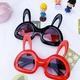 Children's plastic cute animal bunny glasses NHBA311599