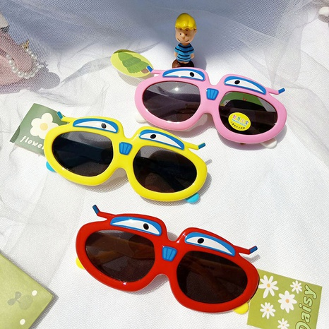 Neue Mode Flugzeug Cartoon Sonnenbrille NHBA311600's discount tags