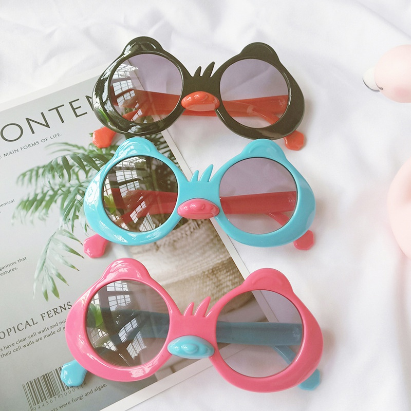 new UV protection fashion cartoon cute little duck glasses NHBA311604