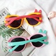 new fashion color bow glasses NHBA311609
